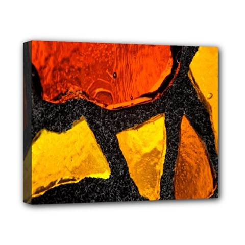 Colorful Glass Mosaic Art And Abstract Wall Background Canvas 10  X 8
