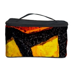 Colorful Glass Mosaic Art And Abstract Wall Background Cosmetic Storage Case