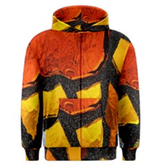 Colorful Glass Mosaic Art And Abstract Wall Background Men s Zipper Hoodie