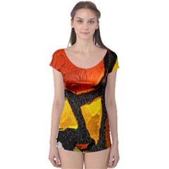 Colorful Glass Mosaic Art And Abstract Wall Background Boyleg Leotard