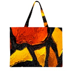 Colorful Glass Mosaic Art And Abstract Wall Background Large Tote Bag