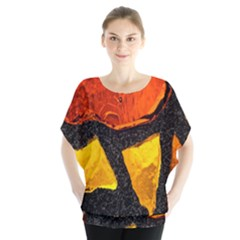Colorful Glass Mosaic Art And Abstract Wall Background Blouse