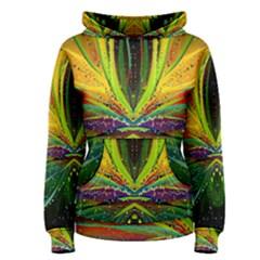 Future Abstract Desktop Wallpaper Women s Pullover Hoodie
