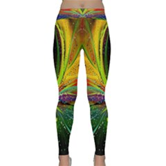 Future Abstract Desktop Wallpaper Classic Yoga Leggings