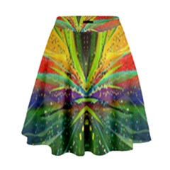 Future Abstract Desktop Wallpaper High Waist Skirt