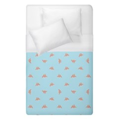 Spaceship Cartoon Pattern Drawing Duvet Cover (Single Size)