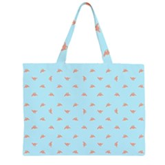 Spaceship Cartoon Pattern Drawing Large Tote Bag