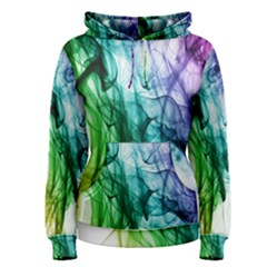 Colour Smoke Rainbow Color Design Women s Pullover Hoodie