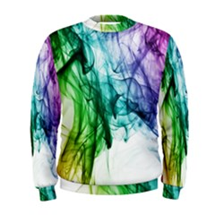 Colour Smoke Rainbow Color Design Men s Sweatshirt
