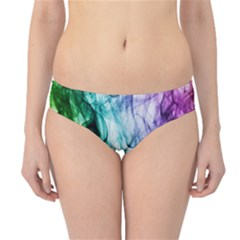 Colour Smoke Rainbow Color Design Hipster Bikini Bottoms