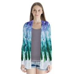 Colour Smoke Rainbow Color Design Cardigans