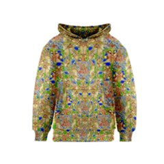 Lizard And A Skull Kids  Pullover Hoodie