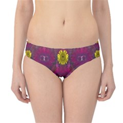 Colors And Wonderful Sun  Flowers Hipster Bikini Bottoms