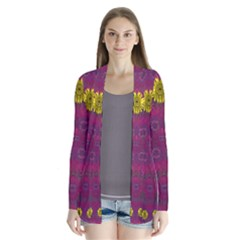 Colors And Wonderful Sun  Flowers Cardigans