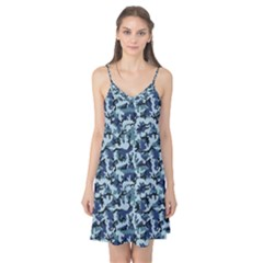 Navy Camouflage Camis Nightgown