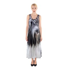 Schapendoes Sleeveless Maxi Dress