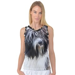 Schapendoes Women s Basketball Tank Top
