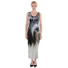 Schapendoes Fitted Maxi Dress