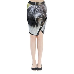 Schapendoes Midi Wrap Pencil Skirt