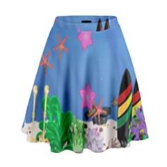 My Tank! High Waist Skirt