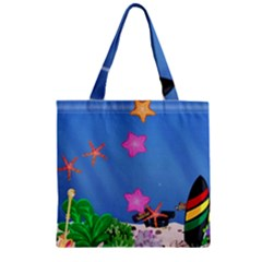 My Tank! Zipper Grocery Tote Bag