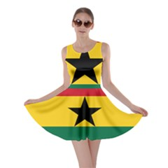 Flag of Ghana Skater Dress