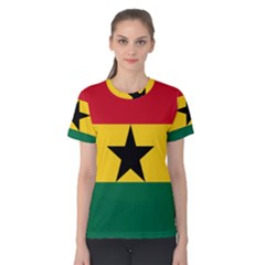 Flag of Ghana Women s Cotton Tee