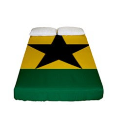 Flag of Ghana Fitted Sheet (Full/ Double Size)
