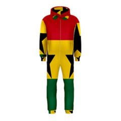 Flag of Ghana Hooded Jumpsuit (Kids)