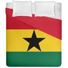 Flag of Ghana Duvet Cover Double Side (California King Size)