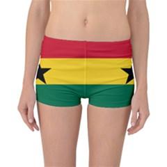 Flag of Ghana Reversible Bikini Bottoms