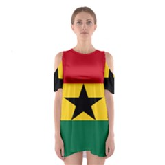 Flag of Ghana Shoulder Cutout One Piece