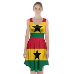 Flag of Ghana Racerback Midi Dress