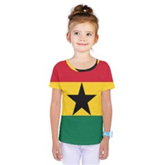 Flag of Ghana Kids  One Piece Tee