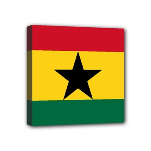 Flag of Ghana Mini Canvas 4  x 4