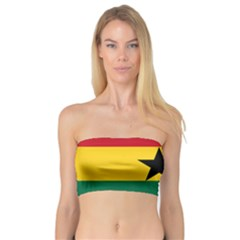 Flag of Ghana Bandeau Top