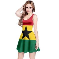 Flag of Ghana Reversible Sleeveless Dress
