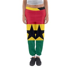 Flag of Ghana Women s Jogger Sweatpants