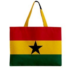 Flag of Ghana Zipper Mini Tote Bag
