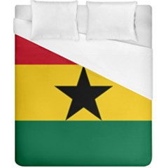 Flag of Ghana Duvet Cover (California King Size)