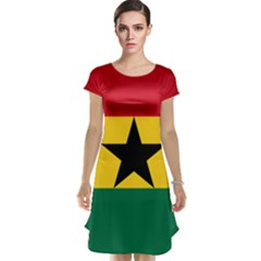 Flag of Ghana Cap Sleeve Nightdress