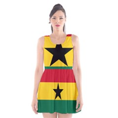 Flag of Ghana Scoop Neck Skater Dress