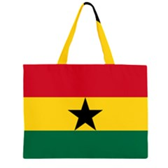 Flag of Ghana Large Tote Bag