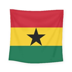 Flag of Ghana Square Tapestry (Small)