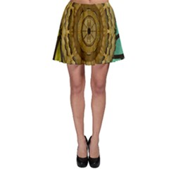 Kaleidoscope Dream Illusion Skater Skirt