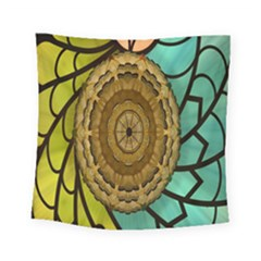 Kaleidoscope Dream Illusion Square Tapestry (small)