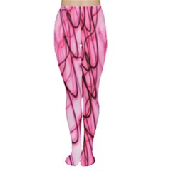 An Unusual Background Photo Of Black Swirls On Pink And Magenta Women s Tights