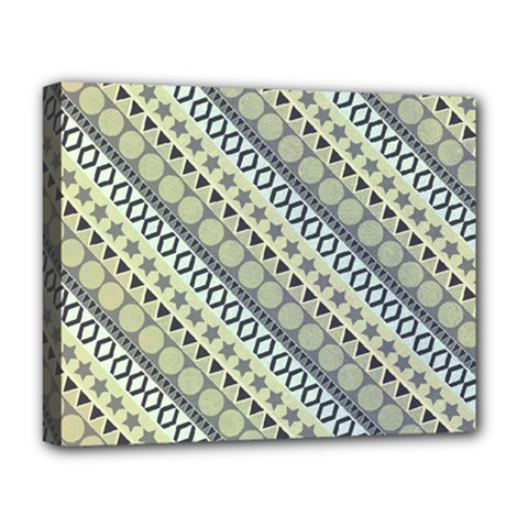 Abstract Seamless Pattern Deluxe Canvas 20  X 16