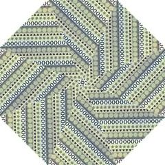 Abstract Seamless Pattern Hook Handle Umbrellas (medium)