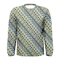 Abstract Seamless Pattern Men s Long Sleeve Tee